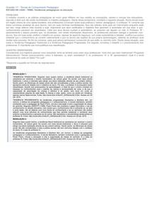 Estudo de CASO  Tendencia Pedagogicas
