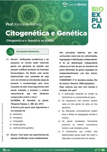 Apostila Citogenética e Genética no ENEM
