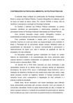 CONTRIBUIÇÕES DA PSICOLOGIA AMBIENTAL ÁS POLÍTICAS PÚBLICAS