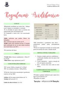 Regulação acidobásica