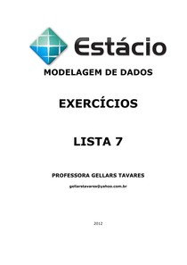 LISTA 7