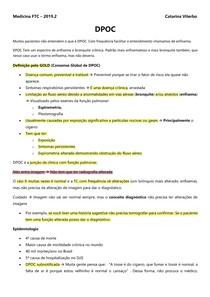 DPOC - PNEUMOLOGIA - ANA PAULA B