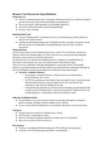 Resumo_ Vias Parenterais Especificidades