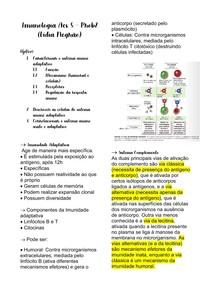 Imunologia P2 - imunidade adaptativa