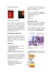 Calcificação patológica