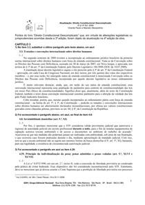 Constitucional Descomplicado 3 p 4 ed 2009