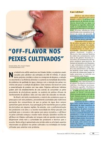 PANORAMA DA AQUICULTURA - Off-flavor em peixes cultivados