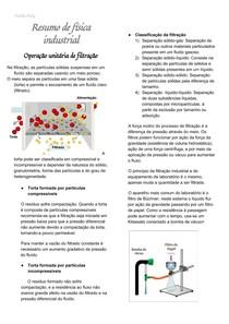 Resumo de Física industrial