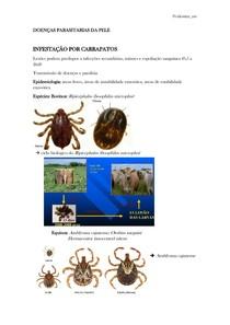 DOENÇAS PARASITÁRIAS DA PELE DE GRANDES ANIMAIS