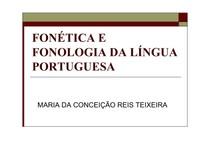 Fonética e Fonologia da linguá portuguesa