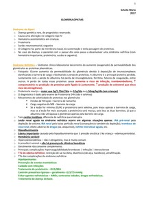 URO | NEFRO - Glomerulopatias