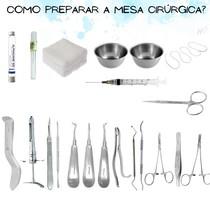 Como preparar a mesa cirúrgica - Prática_cirurgia Odontologica I