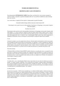 Caso Concreto 4 - Direito Penal I