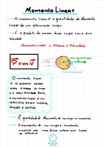 Momento Linear- Resumo