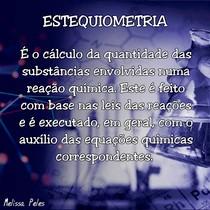 Estequiometria - Enem