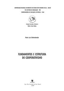 Fundamentos e estrutura do cooperativismo