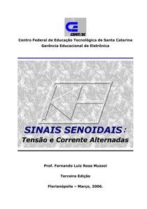 Apostila Sinais Senoidais-Tensão e Corrente Alternadas - CEFET