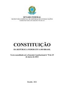 Direito Constitucional - Constituição