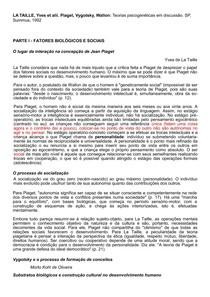 RESENHA 6_lataille.pdf teorias psicogenéticas em discussão