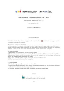 Caderno de provas maratona 2017