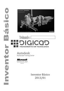 Apostila Inventor 2013 Digicad