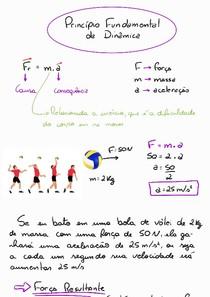 Dinâmica - 2 Lei de Newton