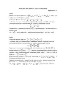 COV 250 - FORMULAS LISTAS 1 E 2