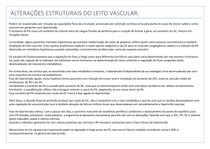 ALTERAÇÕES ESTRUTURAIS DO LEITO VASCULAR