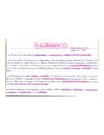 BARROCO flashcard