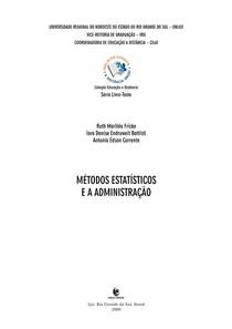 Apostila UNIJUÍ -Métodos estaísticos e a administração