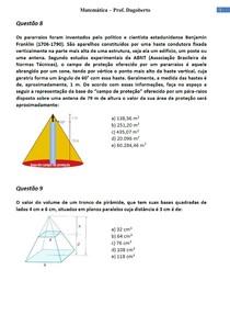 Geometria plana e Espacial - Parte 4