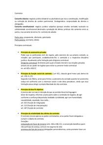 resumo direito civil primeiro bimestre contratos