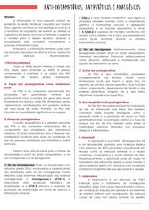 RESUMO (parte 1) - anti-inflamatórios