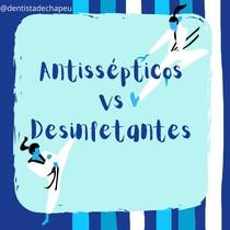 Antissépticos vs Desinfetantes