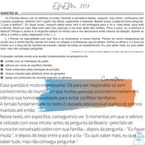 Questão 20 - ENEM 2018 - Vó Clarissa