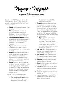 HIGIENE E INSPEÇÃO II