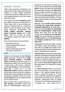ISTs e DSTs - Ginecologia