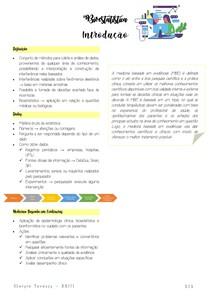 Introdução - Bioestatística