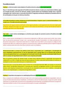 DISCURSIVAS - SAÚDE E PREVIDÊNCIA SOCIAL