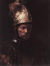 Rembrandt - The man with the golden helmet