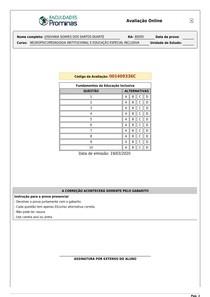 AVD_JOSIVANIA SOARES DOS SANTOS DUARTE _Fundamentos da Educação Inclusiva 1409336 (1)