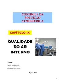 Controle da Poluição Atmosférica Capitulo 9 Ar Interno