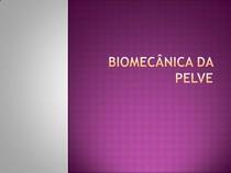 Aula - Biomecânica da Pelve