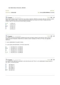 Av2  Matemática  financeira