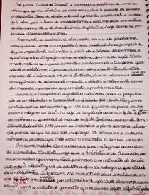 Redação sobre analfabetismo no Brasil