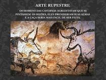 ARTE RUPESTRE E EVOLUÇÃO DA ARTE