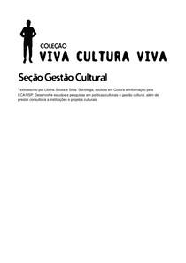 LILIANA SOUSA E SILVA - Gestão Cultural