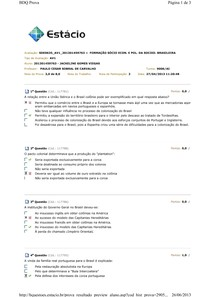 AV1  FORMAÇÃO SÓCIO ECON. E POL. DA SOCIED. BRASILEIRA