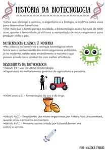 História da Biotecnologia
