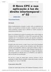 O Novo CPC e sua aplicação à luz do direito intertemporal